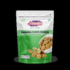 Jaimin Banana Chips Pepper 200g
